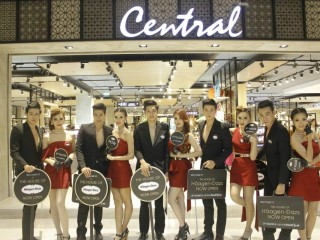 Haagen-Dazs Grand Opening Shop @ Central Festival Chaing Mai